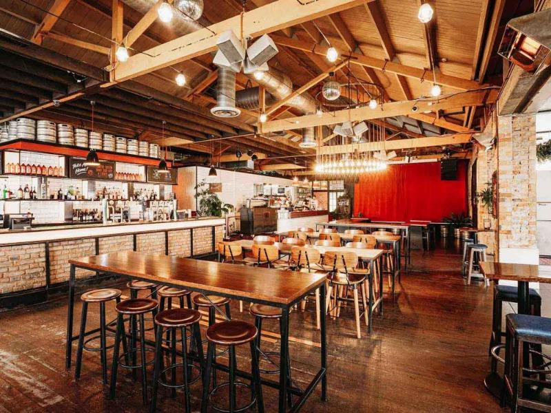 Sweat Shop Brew Kitchen Venue Hire