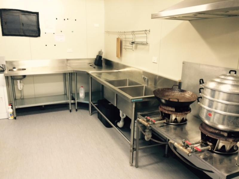 Commercial kitchen for lease