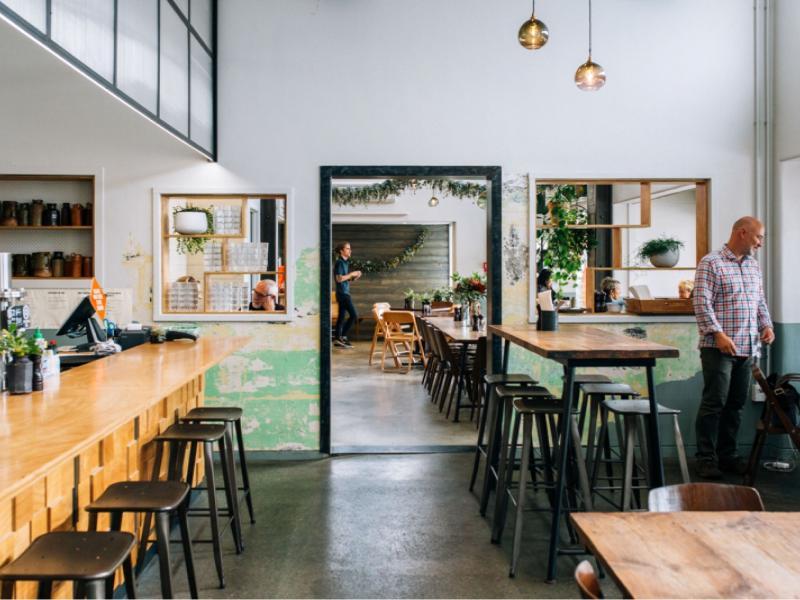 Riverside eatery + award winning venue